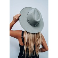 Weighted Down Hat: Gray/Silver