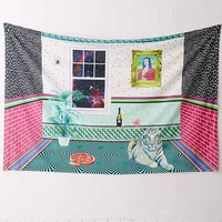 Allover Crazy Room Tapestry - Multi One