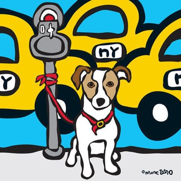 NYC Jack Russell Print