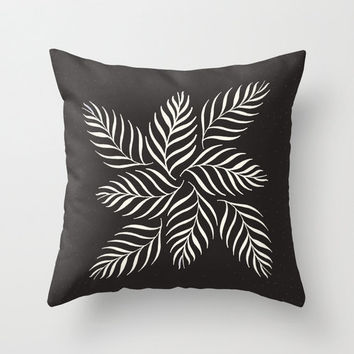 Ferns Throw Pillow Cover - Belles & Ghosts Home Decor Collection