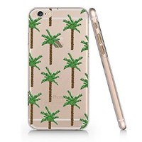 Palm Tree Pattern Iphone 6 case, Iphone 6 Case Slim White Cover Skin (4.7'' Screen)- Quindyshop (AM445)