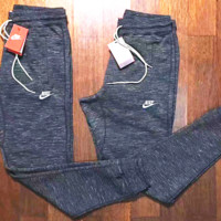 NIKE Hot Trending Grey Long Sports Pants