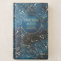 One Line A Day Journal | Urban Outfitters
