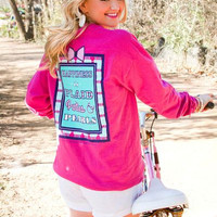 Jadelynn Brooke: Happiness is Tee {Raspberry}