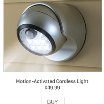 Motion-Activated Cordless Light