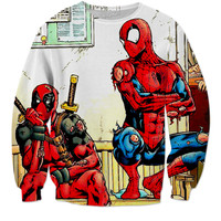 Dead pool and spider man