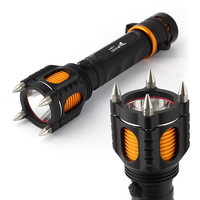 Self Defense LED Flashlight with Audible Alarm