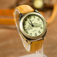 Designer's Awesome Gift Trendy Good Price Great Deal New Arrival Casual Quartz Stylish Simple Gifts Men Ladies Watch [4933059012]