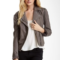 Line | Line Franklin Leather Jacket/Vest | Nordstrom Rack