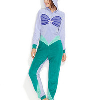 Briefly Stated The Little Mermaid Hooded Jumpsuit