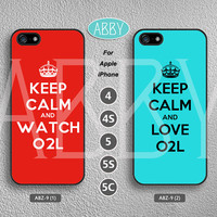 iPhone cases iPhone 5s case iPhone 5 case keep calm iPhone 4s case o2l iPhone 4 case o2l iPhone5c case words iPhone case ABZ-9