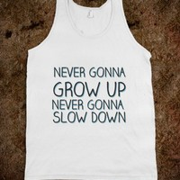 Never Gonna Grow Up - Country Girl