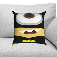 Minions Batman Despicable Me Custom Pillow Case for One Side and Two Side
