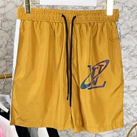 LV New fashion monogram letter print couple shorts