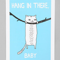 Urban Outfitters - Gemma Correll For Society6 Hang In There Art Print
