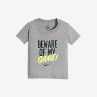 """The Nike """"Beware of My Game"""" Infant/Toddler Boys' T-Shirt."""
