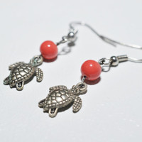 Mini Turtle Earrings
