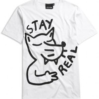 Lazy Oaf | Stay Real T-shirt