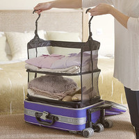 Deluxe Packable Shelves in travel accessories at Lakeland
