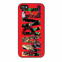 Brand New Marvel Marvel Characters iPhone 5s Case