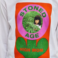 Stoned Age Mom Long Sleeve Tee | Urban Outfitters