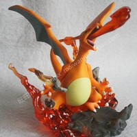 15cm Large Size Charizard Figures ing Pikachued Series Action Figure Doll Toys for Children with Box Birthday Gift K103Kawaii Pokemon go  AT_89_9