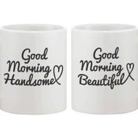 Wedding and Bridal Shower Gifts - Good Morning Mug Set