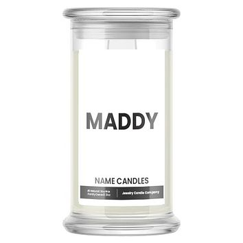 MADDY Name Candles