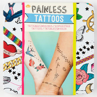 Painless Tattoos Multi One Size For Women 25372795701