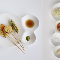 Japan Trend Shop | savone Divided Plate Set