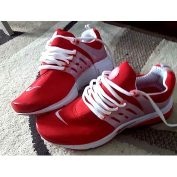 Nike Sneakers Sport Shoes Presto Red/White