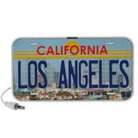 Los Angeles California - speakers from Zazzle.com