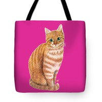 """A Sweet Ginger Tote Bag 18"""" x 18"""""""