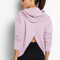 Fleece Crossover Hoodie - Victoria Sport - Victoria's Secret