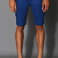 Cotton-Blend Chino Shorts