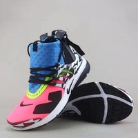 Nike Air Presto Mid Acronym Fashion Casual High-Top Sneakers Sport Shoes-2