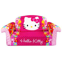 Marshmallow Hello Kitty Flip Open Sofa
