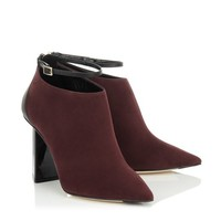 Ink Suede and Black Calf Ankle Boots | Vaunt | Autumn Winter 14 | JIMMY CHOO Shoes