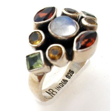 Nicky Butler Gemstone Ring Size 6