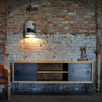 HOLD FOR MARCO: Custom Credenza and Mirror