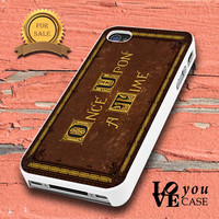 cover OUAT Book for iphone, ipod, samsung galaxy, HTC and Nexus Case