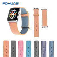 Apple Watch FOHUAS High Quality Nylon Band For42mm 38mm With 316L Stainless Steel Clasp and Adapters Sports Fashion