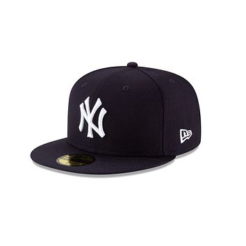 NEW YORK YANKEES NEW ERA 59FIFTY FITTED HATS (GRAY UNDER BRIM)