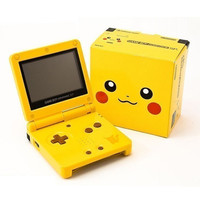 Nintendo Game Boy Advance SP - Pikachu Yellow Edition (Ugly - Pre-owned)