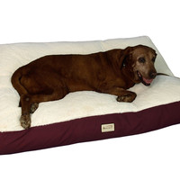 Medium Ivory Pet Bed Mat 28 by 22 by 5 M02HJH/MB