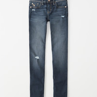 girls ripped skinny jeans | girls bottoms | Abercrombie.com