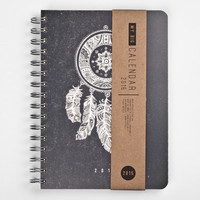 2015 Year Weekly Planner Calendar Diary Day Spiral A5 Dreamcatcher This Day Planner - BEST Valentines GIFT!