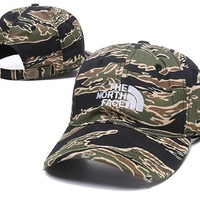 Embroidered Baseball The North Face Cap Hat CAMO