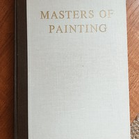 Vintage 1960's Masters of Painting Book