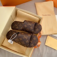 LV Home soft cotton slippers